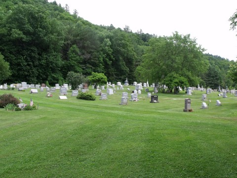 A overall photograph is not available for this cemetery