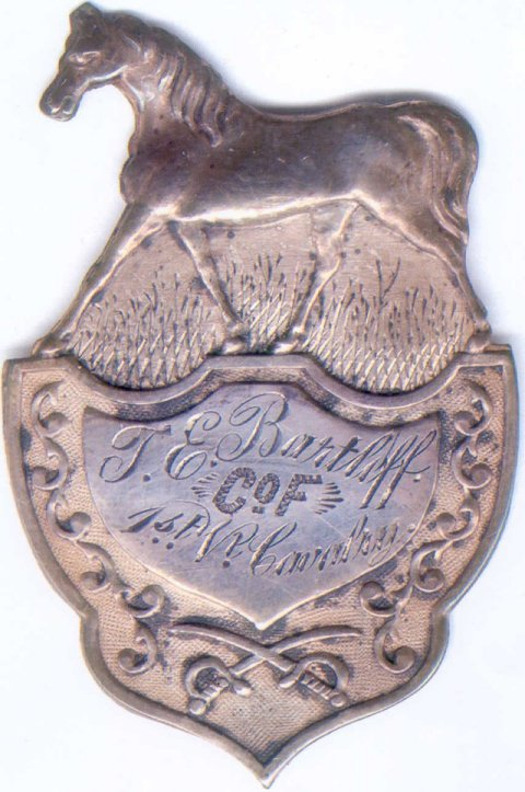 First Vermont Cavalry badge