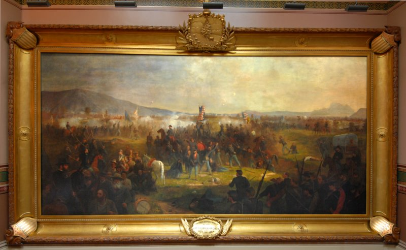 Cedar Creek Battle, Vermont State House