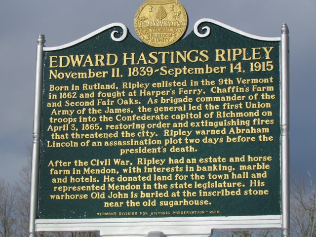 Ripley Roadside Marker photos