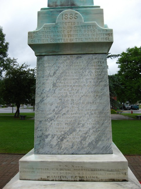 Vermont Civil War Lest We Forget