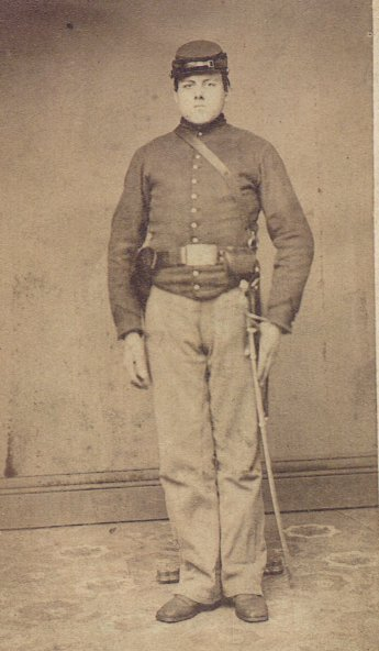 Pvt Frank Dana Hyde, Middlebury, Frontier Cavalry, January-June 1865