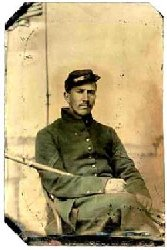 Unidentified Vermont Civil War Soldier
